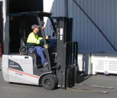 Solar Powered Fork Lifts