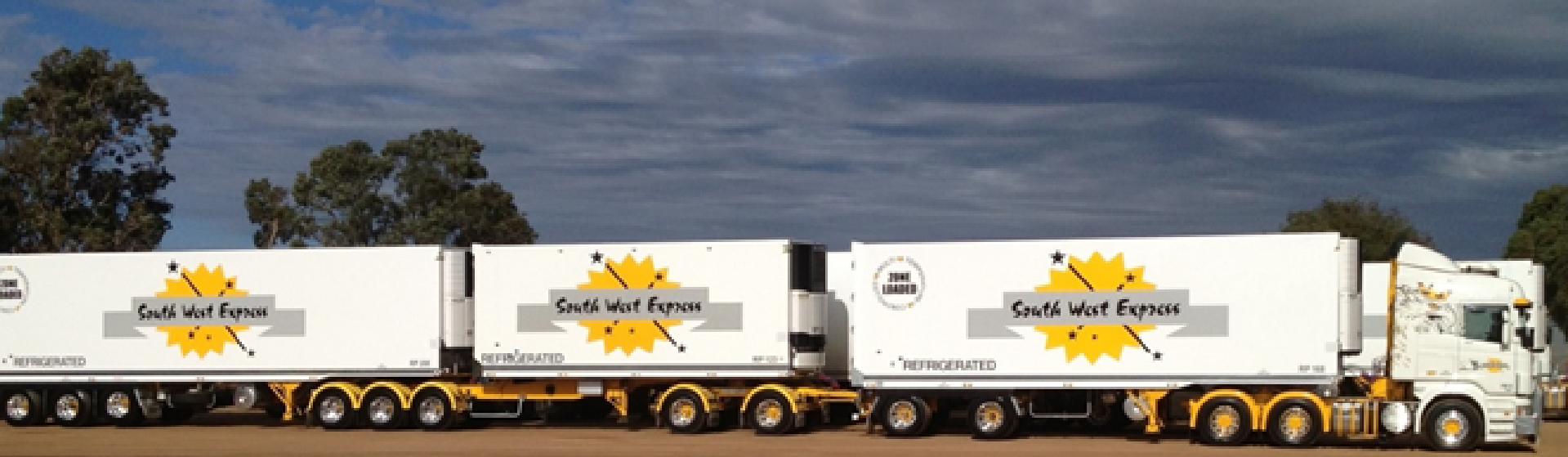 South west Express food road train