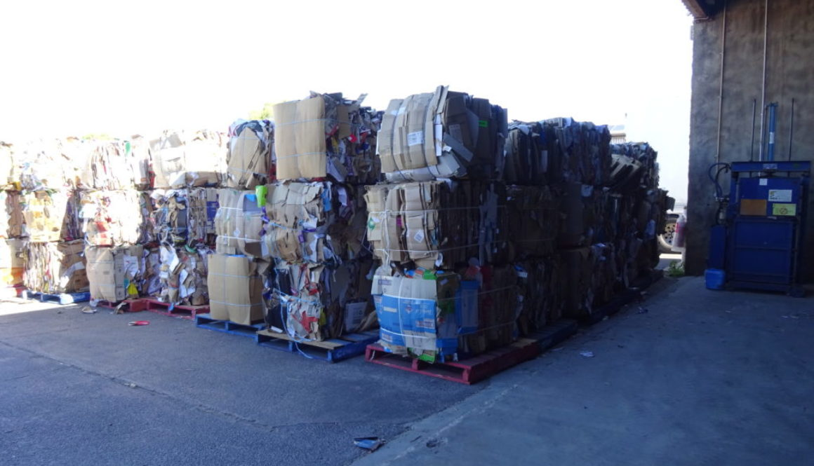 Recycling service for our clients